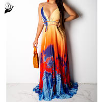 Flow Me Into The Night Maxi Dress
